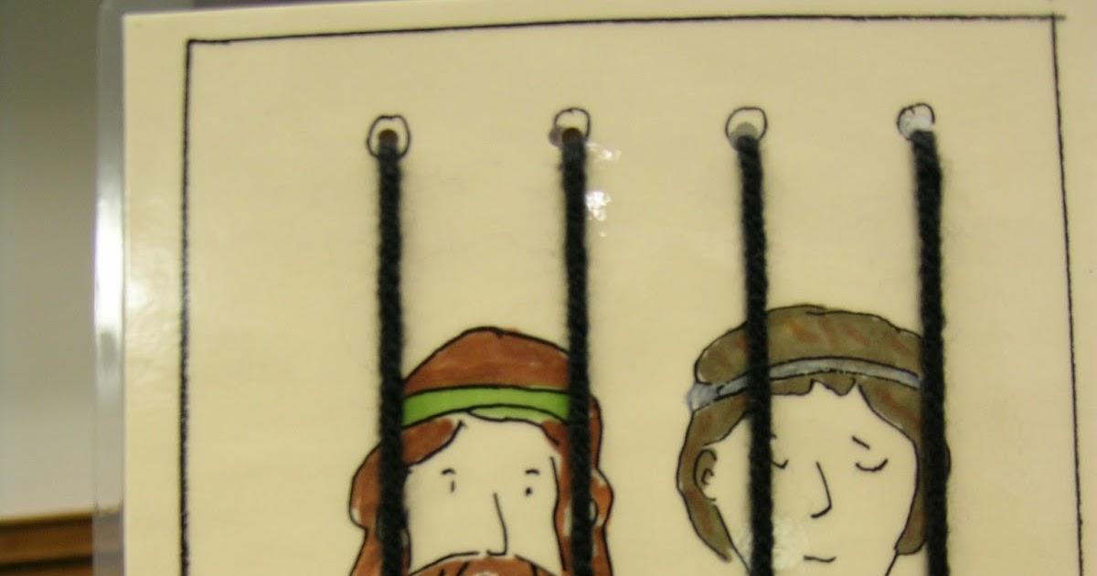 Peter In Jail Preschool Craft