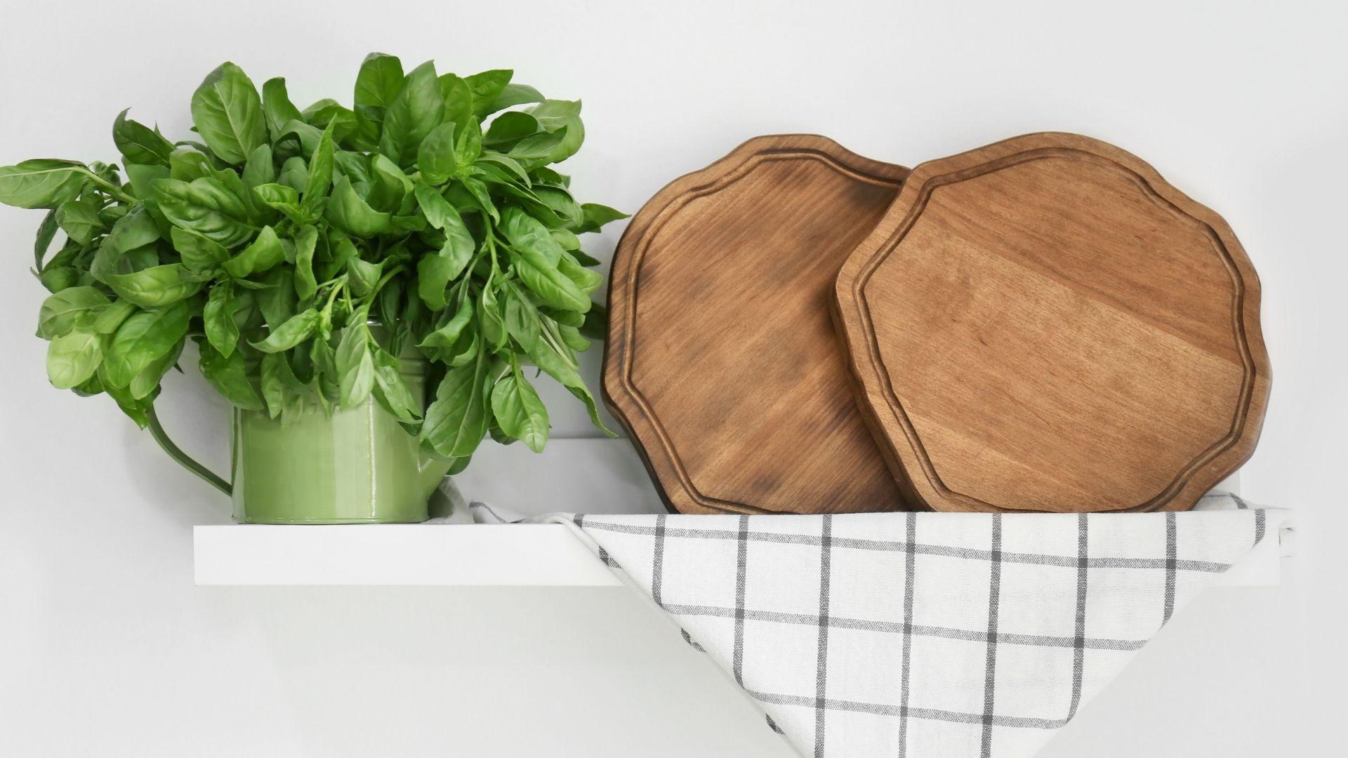 półki w kuchni inspiracje