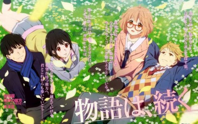 Top Anime Like Tokyo Ghoul - Beyond the Boundary (Kyoukai no Kanata)