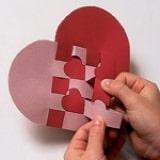 Woven Heart Basket - Step 3