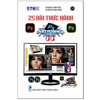 25 Bài Thực Hành Photoshop ebook PDF-EPUB-AWZ3-PRC-MOBI