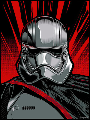 "Star Wars: The Force Awakens ""Captain Phasma"" Screen Print by Hydro74 x Dark Ink Art x Acme Archives Direct"