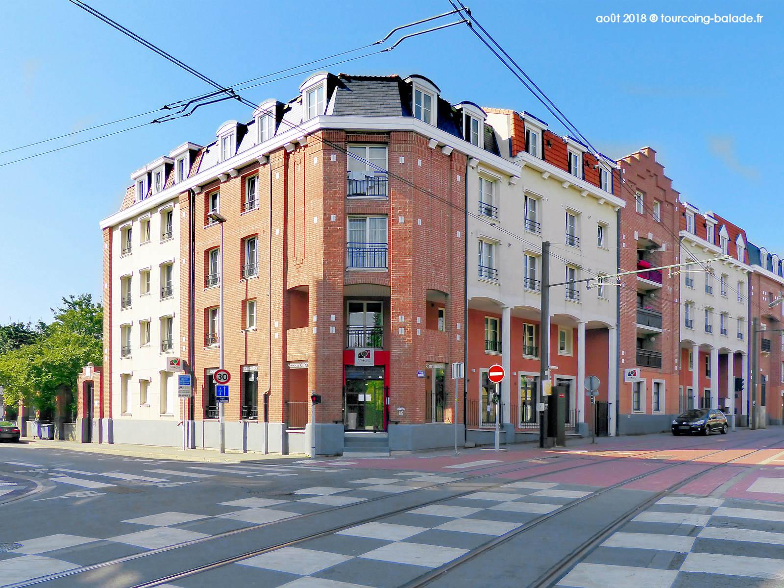 Résidence Turene, Tourcoing 2018