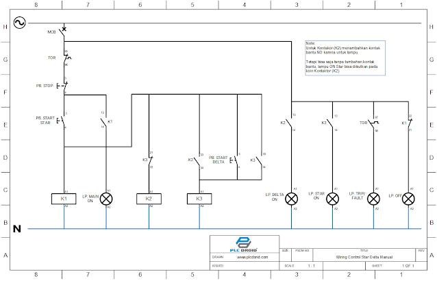 Wiring Diagram Star Delta Manual