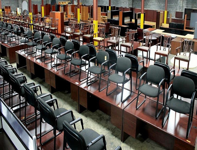 best buy discount used office furniture KCMO for sale