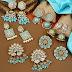 Meenakari earrings sets