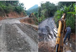 Prefeitura de Miracatu realiza manutenção nas estradas rurais