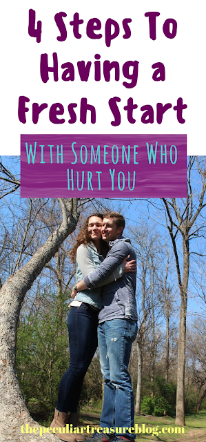 4 Ways To Have a Fresh Start With A Friend Who Has Hurt You. | #faith #christianity #forgiveness #freshstart
