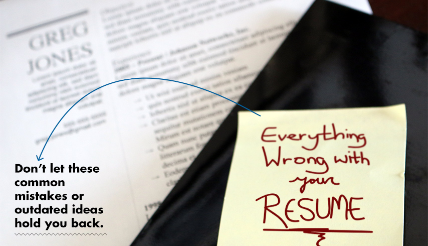 Common Mistakes You Must Not Make On Your Resume  Marketing