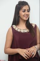 Nikki Galrani in a Brown Shining Sleeveless Gown at Nakshatram music launch ~  Exclusive 088.JPG