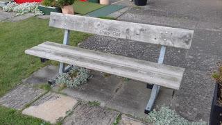 Bench at Prestatyn Crazy Golf