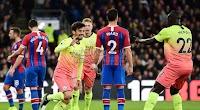 مانشستر سيتي يحقق فوز هام خارج ملعبه امام فريق كريستال بالاس بهدفين بدون رد في الدوري الانجليزي