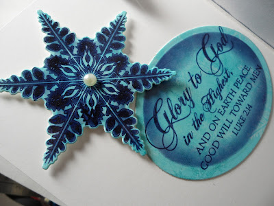 Our Daily Bread Designs, Jan Marie Ennenga, Sparkling Snowflakes, Christmas Verses