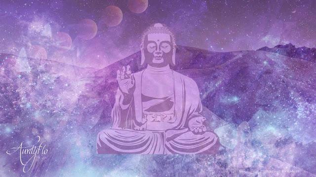Purple, Color, Buddha