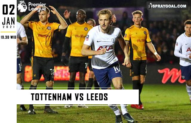 Prediksi Skor Tottenham Vs Leeds