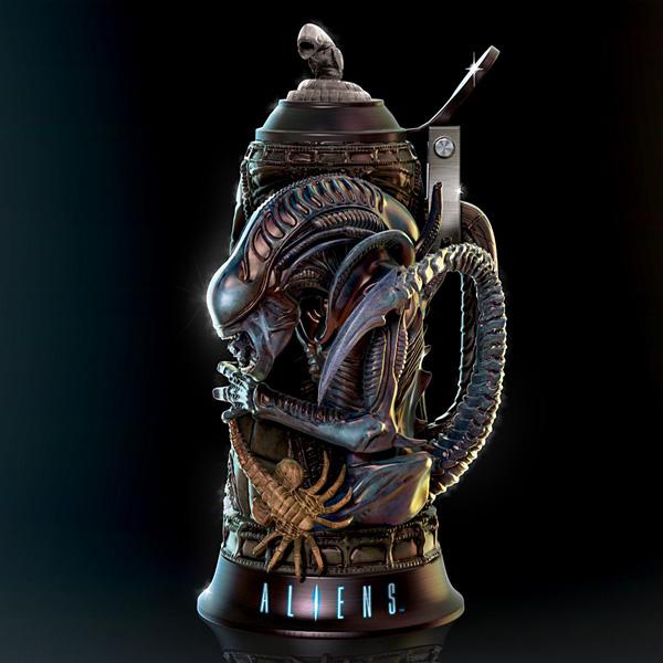 La jarra cervecera de alien que querrás tener nada mas verla