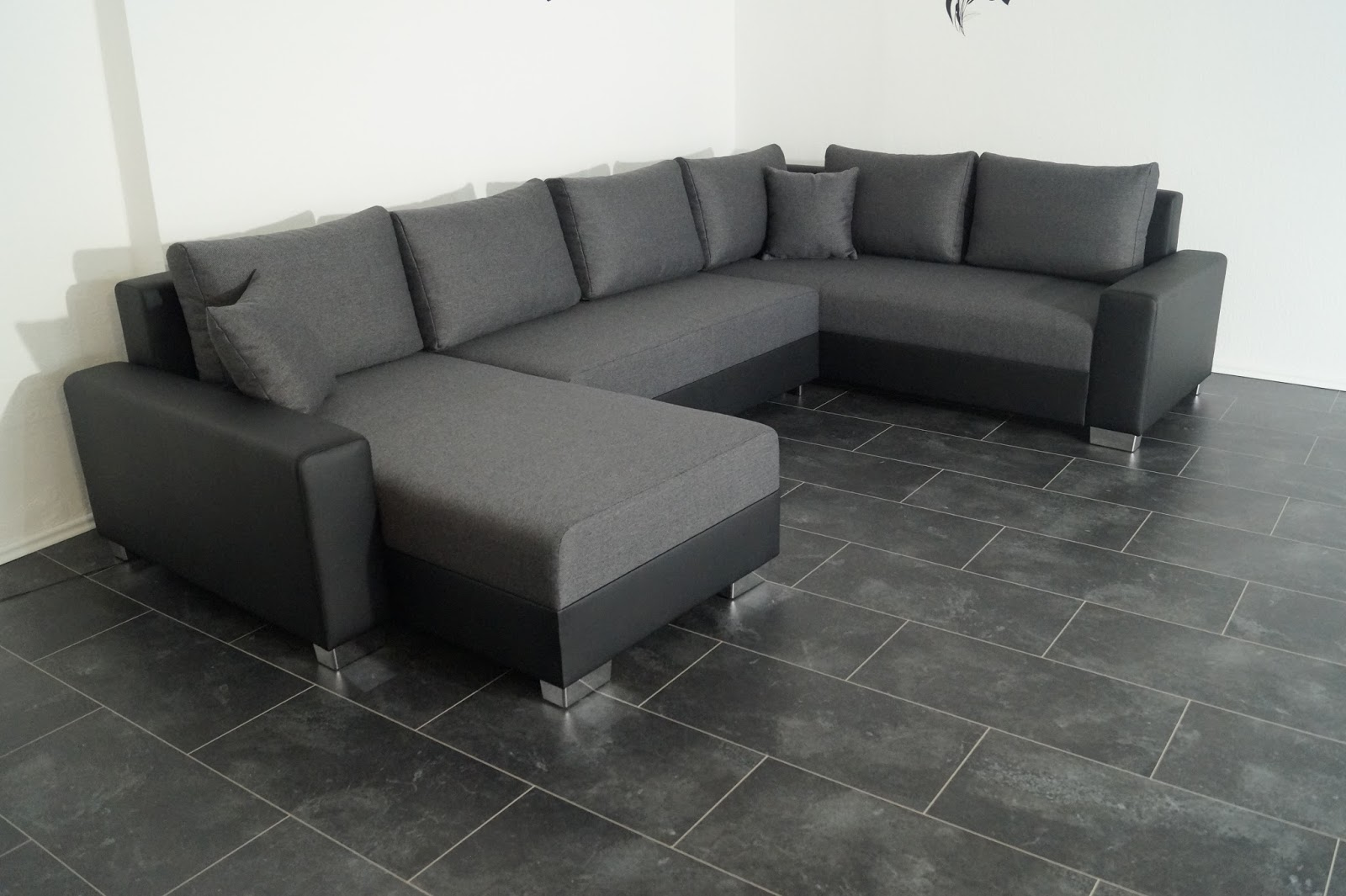 bettsofa schlafcouch sofa couch wohnlandschaft polsterecke bettfunktion nr922. Black Bedroom Furniture Sets. Home Design Ideas