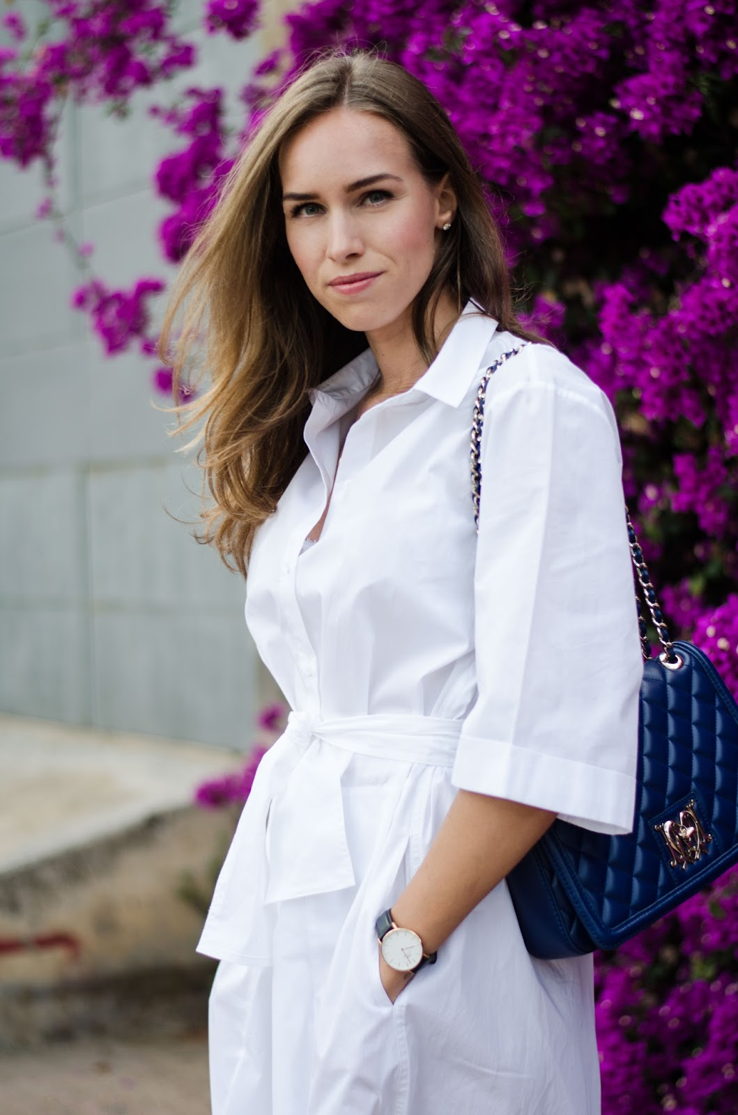 kristjaana mere white shirt dress