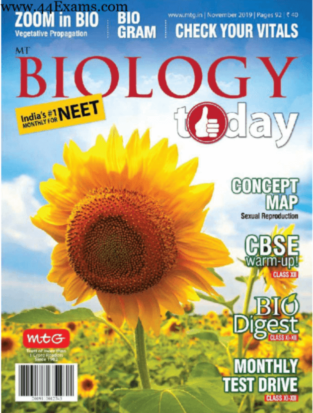 Biology-Magazine-November-2019-For-NEET-Exam-PDF-Book