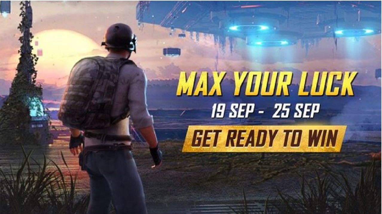 BGMI Max Your Luck Event