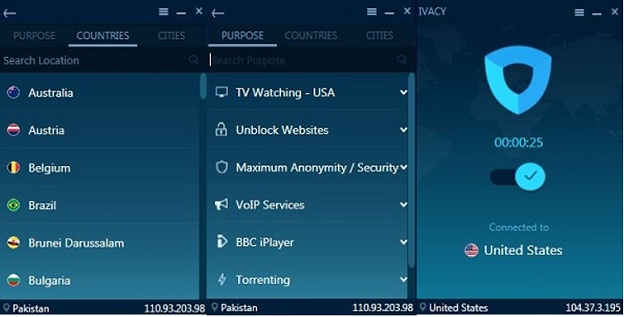 Ivacy App for Windows