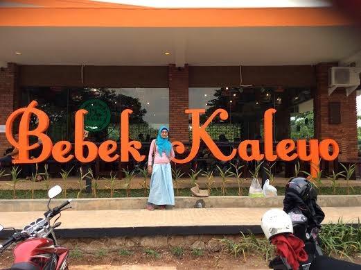 Bebek Kaleyo Opening @Cafewalk Grand Wisata Bekasi