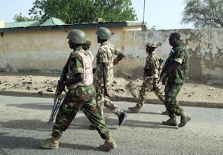 BOKO HARAM REFORMED CHILD SOLDIERS HANDING OVER OF 184