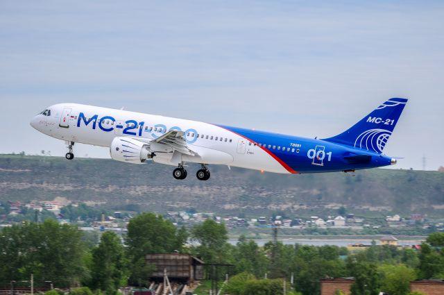 Про первый полет МС-21-300