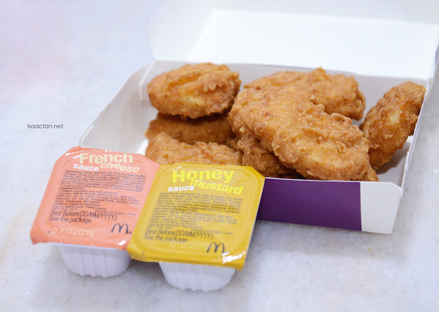 McDonald's Chicken McNuggets - Dip 'Em Share 'Em Promotion