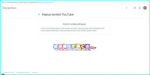 Cara Menghapus Channel di Youtube