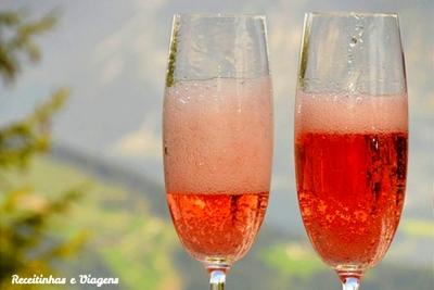 Drinks para o Réveillon: o lindo espumante rosé