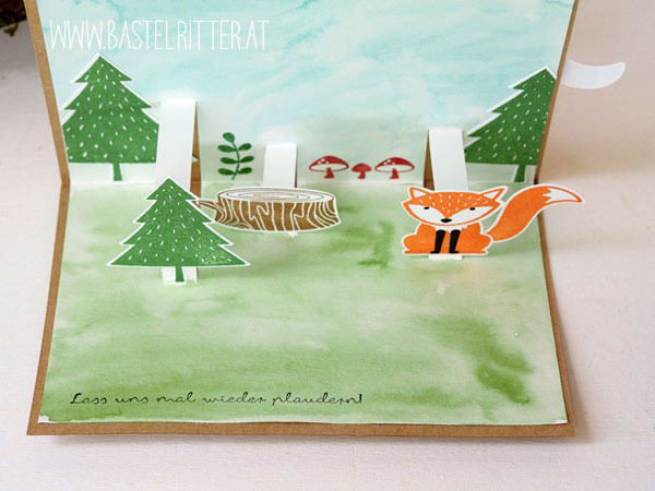Foxy Friends Stampin up Bastelritter