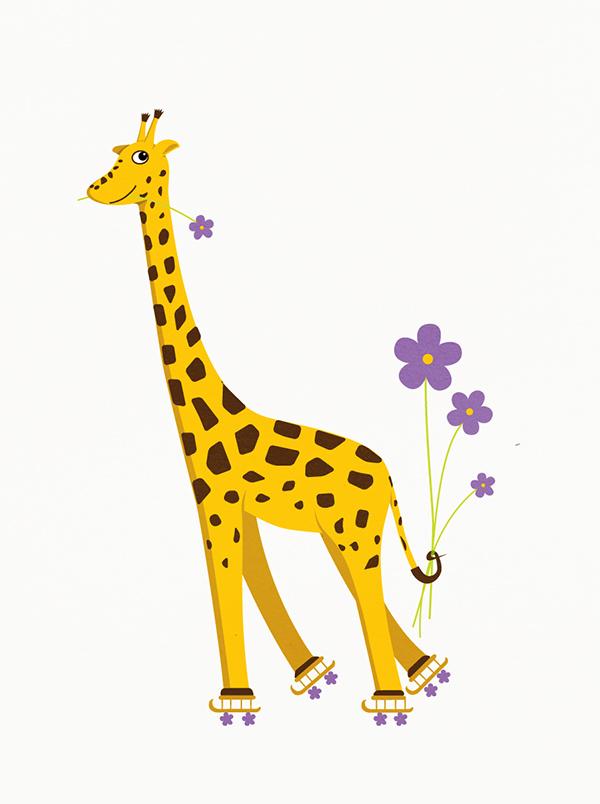 cute baby giraffe wallpaper