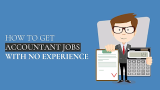 How To Get Accounting Job With No Work Experience