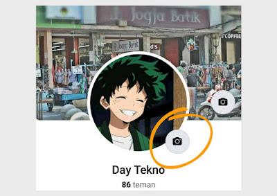 Cara mengganti foto profil facebook jadi bergerak