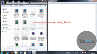 Cara edit subtitle film di notepad
