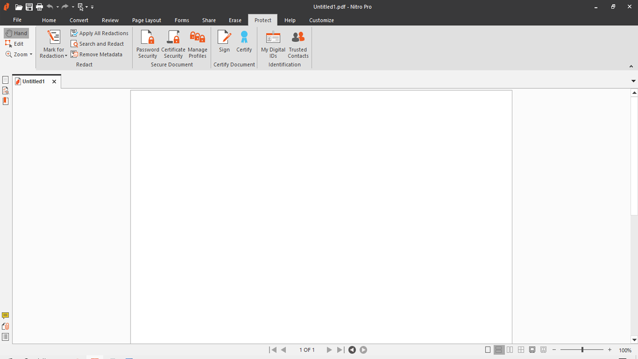 Cara Mengunci File Pdf Aplikasi Nitro Pro