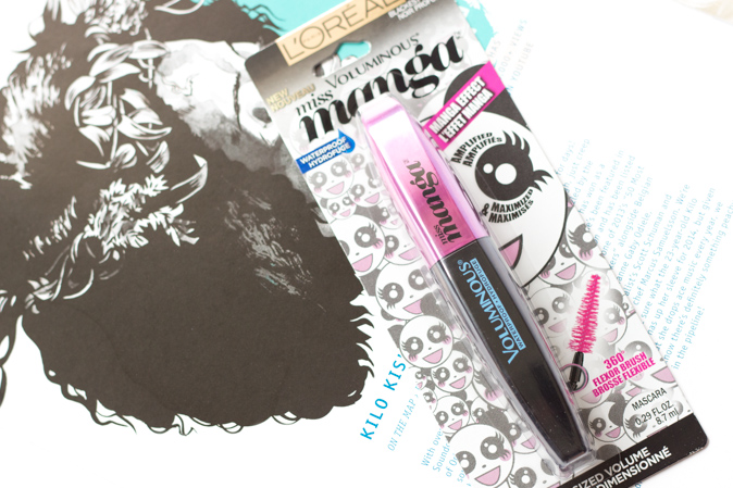 loreal miss manga waterproof mascara review