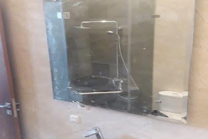 Kaca Cermin pemasangan di Rumah Bpk Robert di Kelapa Gading Jakarta Utara