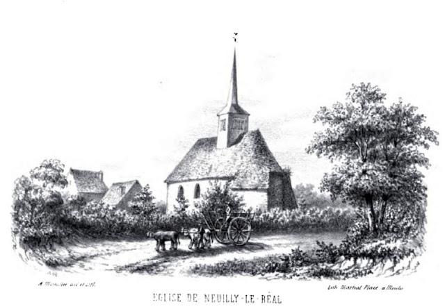 patrimoine de l'Allier église de Neuilly le Réal