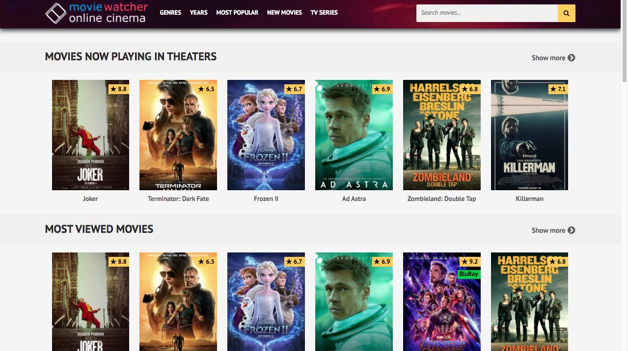 MovieWatch alternatives