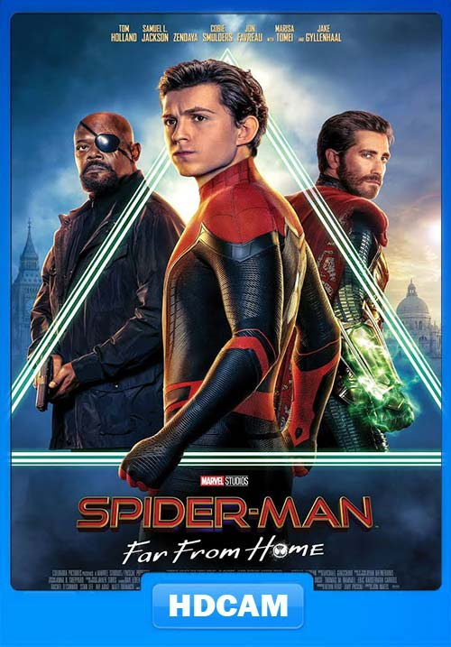 Spider Man Far from Home 2019 English HDCAM 720p x264 | 480p 300MB | 100MB HEVC