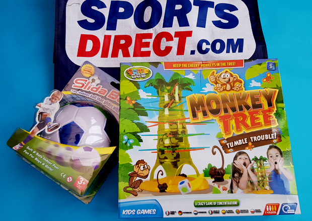 Sports Direct Christmas Challenge - gifts for under £5