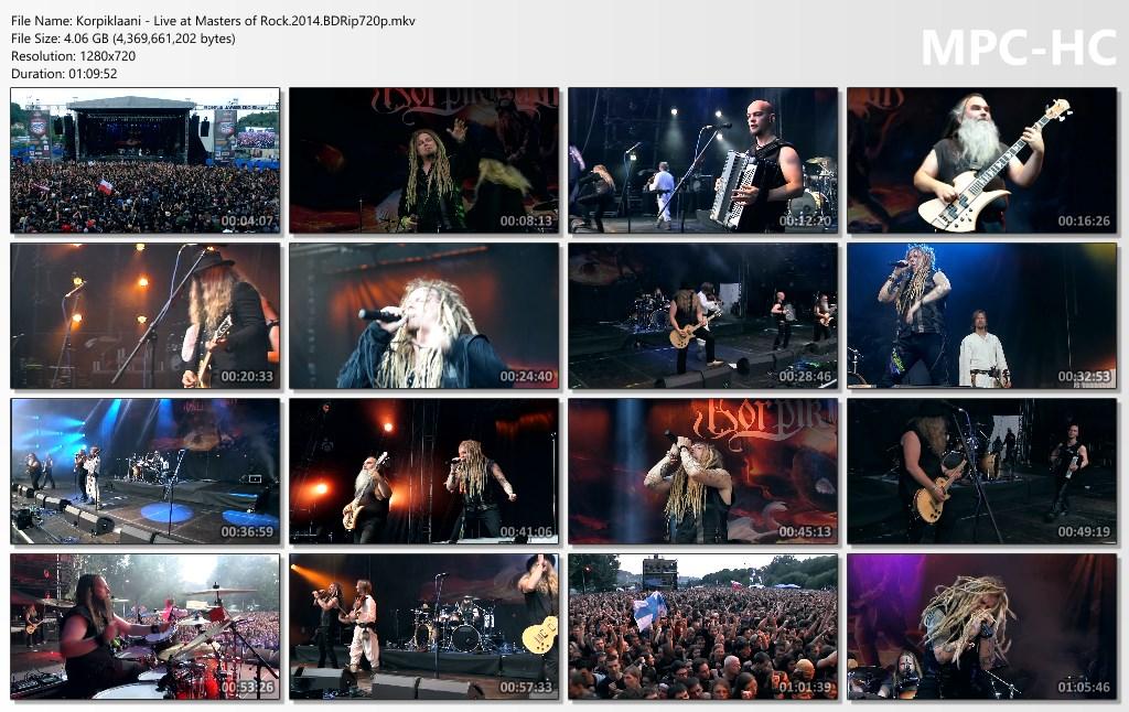 Korpiklaani Live at Masters of Rock BDRIP 1080P Images