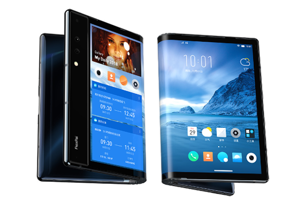 Royole's FlexPai is the World's first foldable smartphone