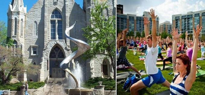 Hindus welcome Catholic Creighton University using yoga to help Parkinson's patients