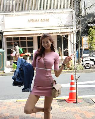 Cewek cantik asal korea pamer paha mulus indahLee Hee Eun