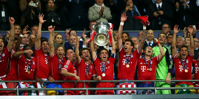 Top 10 Clubs with most Champions League Titles - FC Bayern Munich