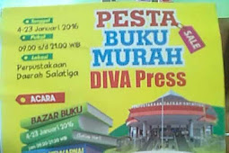 Pesta Buku Cerita Anak Murah Diva Press, Salatiga, Januari 2016