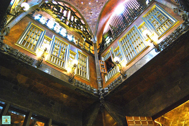 Salón Central del Palau Güell, Barcelona